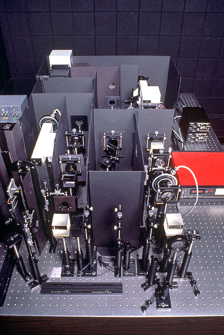 Maxwellian View Optical System